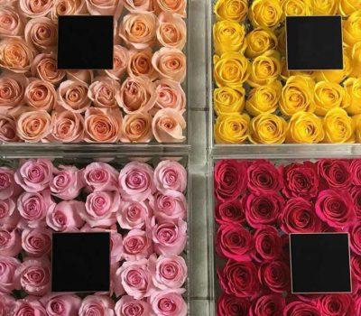 Боксы для цветов